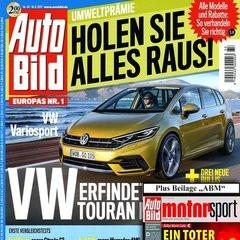 Auto Bild + Auto Bild Motorsport Titelbild