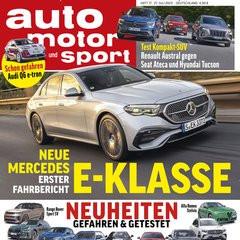 Auto Motor Sport Titelbild