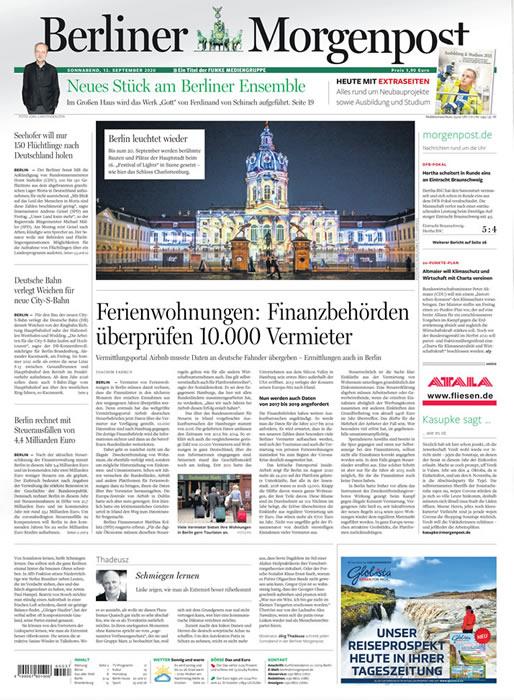 Berliner Morgenpost Abo mit Prämie