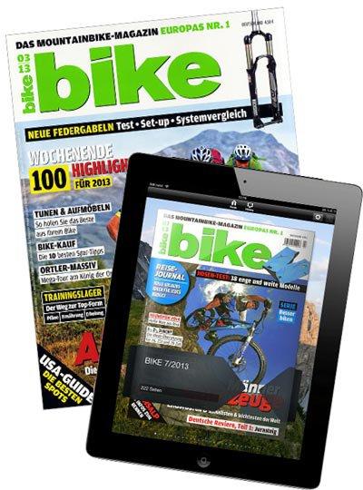 Bike (Print + Digital) Abo mit Prämie