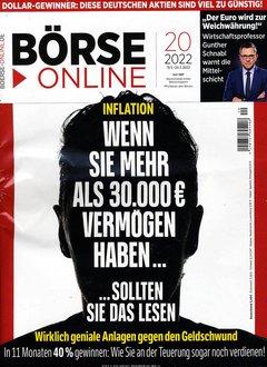 Börse Online Abo + 125,00 € Prämie + 5,00 € Rabatt Titelbild