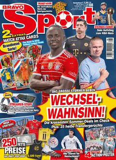 Bravo Sport Abo + 20,00 € Prämie Titelbild
