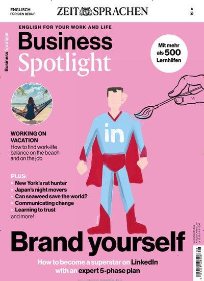 Business Spotlight mit Übungsheft Abo mit Prämie