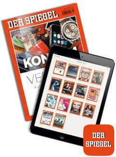 DER SPIEGEL + Digital E-Kombi Abo + 170,00 € Prämie + 5,00 € Rabatt Titelbild