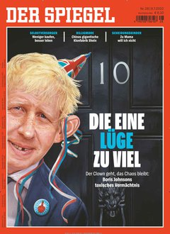 Der Spiegel E-Kombi Abo + 140,00 € Prämie + 5,00 € Rabatt Titelbild