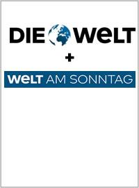 Zeitung Die Welt + WAMS Kombi Abo Titelbild