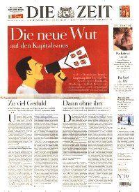 Zeitung Die Zeit Abo Titelbild