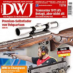 DWJ - Deutsches Waffenjournal Titelbild