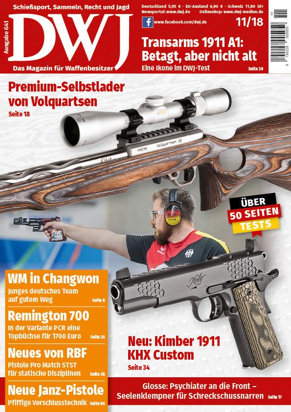DWJ - Deutsches Waffenjournal Abo mit Prämie