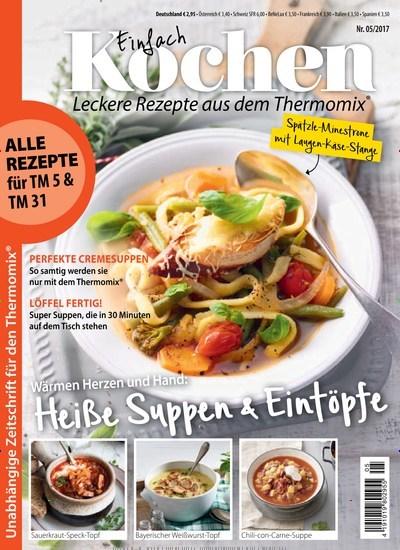 Lecker Zeitschrift Abo einfach kochen mit dem thermomix abo hohe prämie