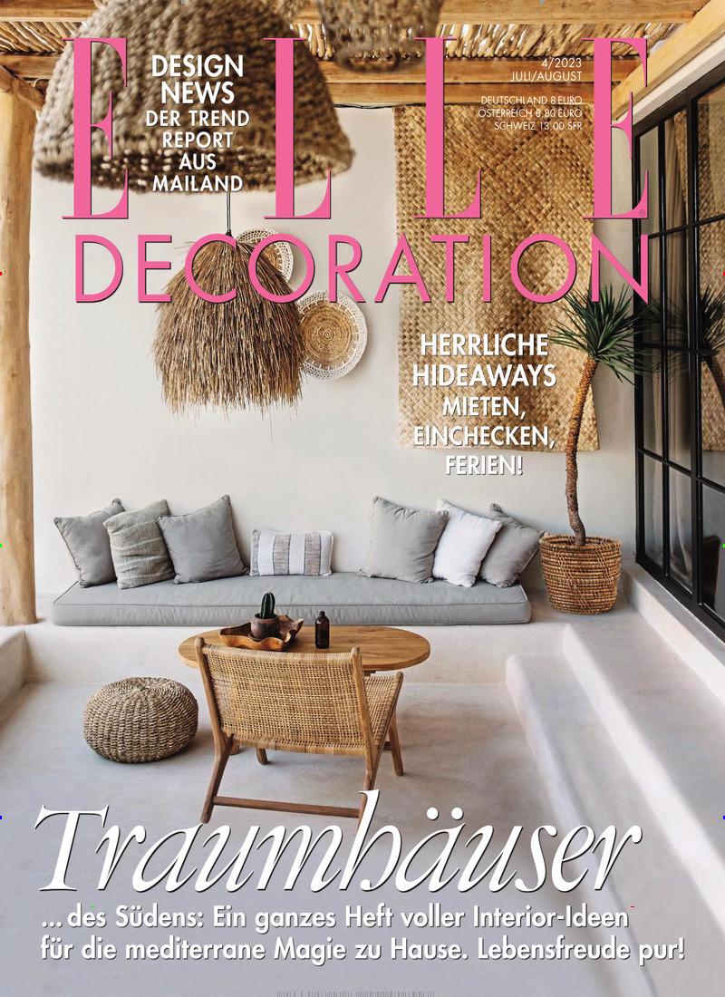 ▷ Elle Decoration Abo Vergleich ▷ bis 35€ Prämie zum Abo
