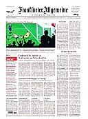 FAZ - Frankfurter Allgemeine Zeitung Abo mit Prämie
