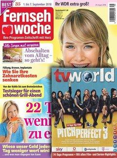 Fernsehwoche mit TV World Abo mit Prämie