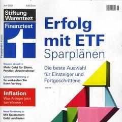 Finanztest Titelbild