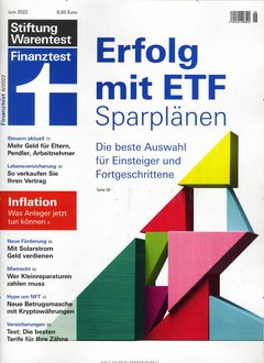 Finanztest Abo mit Prämie
