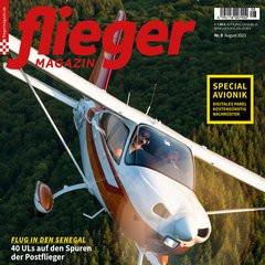 Fliegermagazin Titelbild
