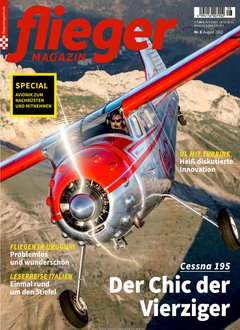 Fliegermagazin Abo Titelbild