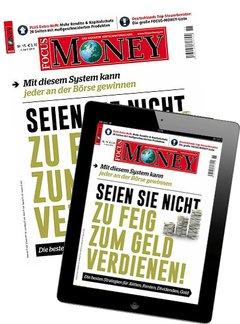 Focus Money + Digital Abo Titelbild