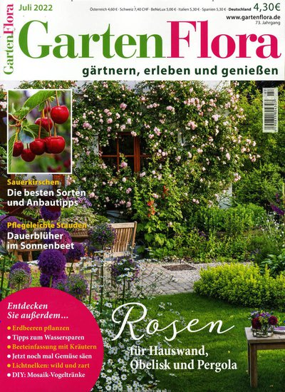 Garten Zeitschrift Abo gartenflora abo vergleich bis 40 prämie zum abo