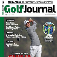 Golf Journal Titelbild