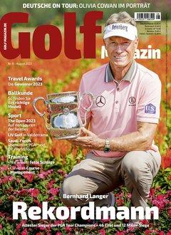 Golfmagazin Abo Titelbild