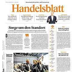 Handelsblatt Titelbild