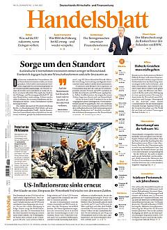 Handelsblatt Titelbild Detailansicht
