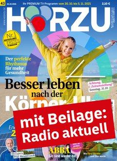 HÖRZU mit Radio aktuell Abo + 110,00 € Prämie + 5,00 € Rabatt Titelbild