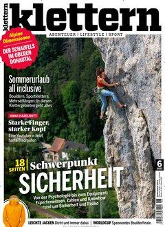 Klettern Abo + 35,00 € Prämie + 5,00 € Rabatt Titelbild