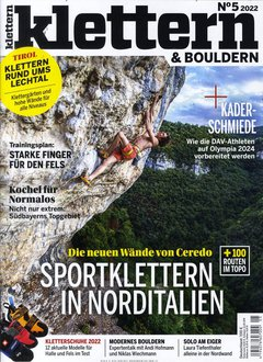 Klettern Abo - 6 Monate nur 2,95 € Titelbild