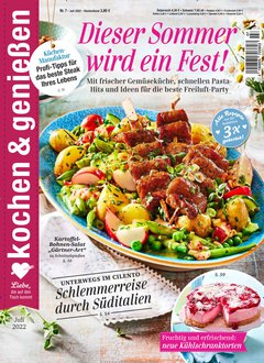 Kochen & Genießen Abo + 30,00 € Prämie Titelbild