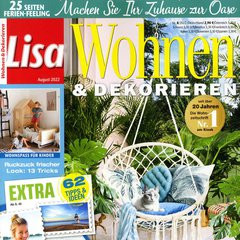 lisa wohnen dekorieren abo bis 16 pr mie. Black Bedroom Furniture Sets. Home Design Ideas