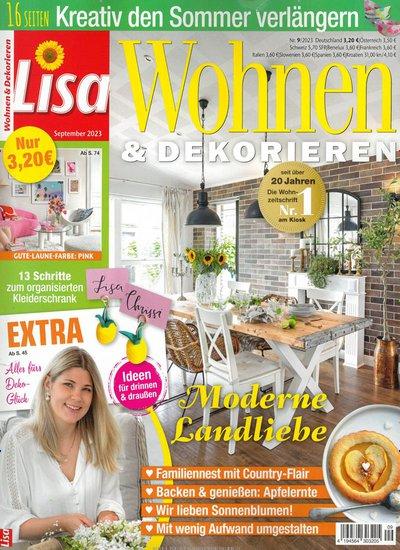 Zeitschrift Dekoration wohnen dekorieren abo bis 16 prämie