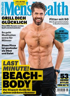 Men´s Health Abo Titelbild