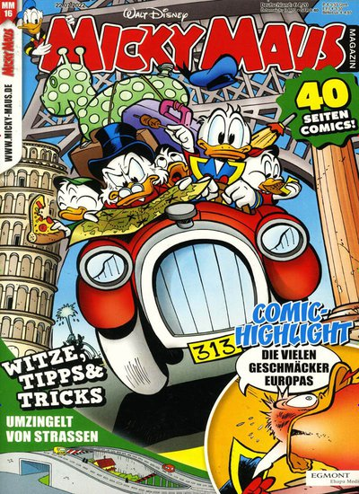 Maus Magazin Micky Maus Magazin Cover