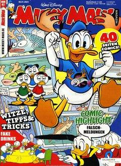 Micky Maus Abo + 60,00 € Prämie Titelbild