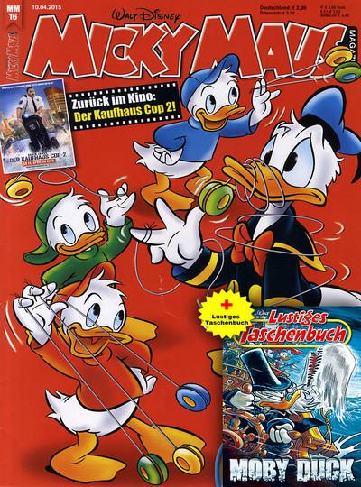 Micky Maus+Lustiges Taschenbuch Abo mit Prämie