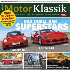 Motor Klassik Titelbild
