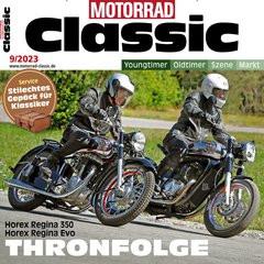 Motorrad Classic Titelbild