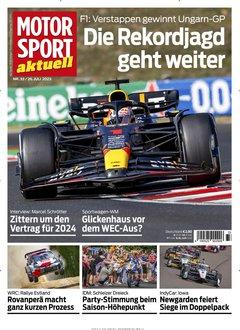 Motorsport Aktuell Abo + 115,00 € Prämie + 5,00 € Rabatt Titelbild