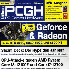 PC Games Hardware +DVD Titelbild