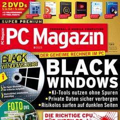 PC Magazin mit DVD Titelbild
