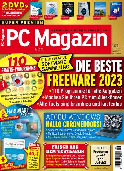 PC Magazin mit DVD Abo mit Prämie