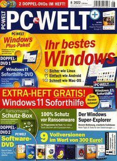 PC Welt DVD plus Abo Titelbild