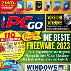 PCgo mit DVD Titelbild