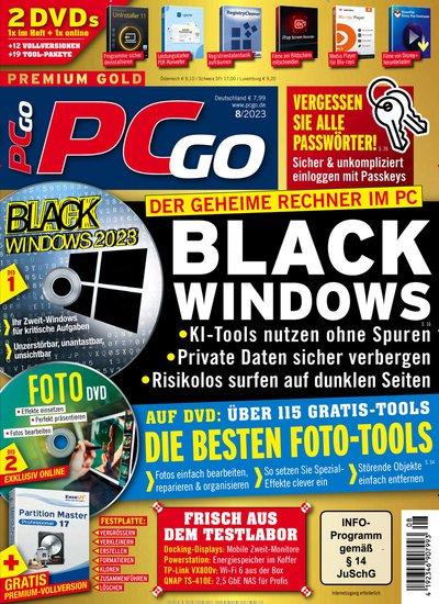 PCgo mit DVD Abo mit Prämie