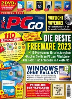 PCgo mit DVD Abo + 55,00 € Prämie + 5,00 € Rabatt Titelbild