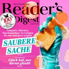 Readers Digest Titelbild