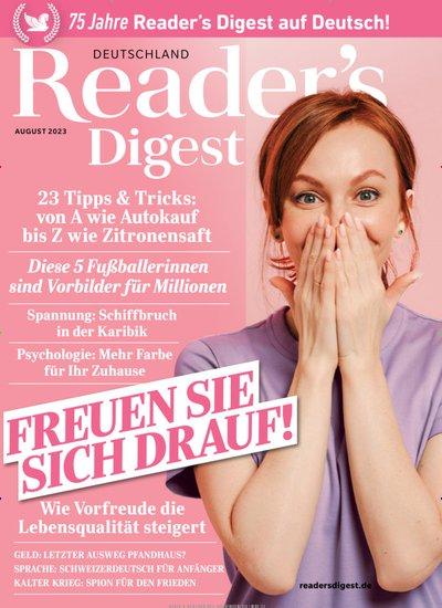 Readers Digest Abo mit Prämie