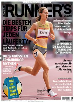 Runners World Abo Titelbild